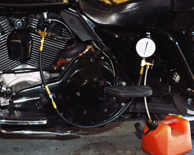 Biker Rogue's Jims Fuel Pressure Tester Article