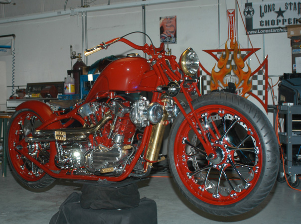 Painting To The Two Biker Build Off Winners Indian Larry Billy Lane
