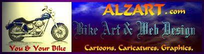 ALZART custom drawn graphics!